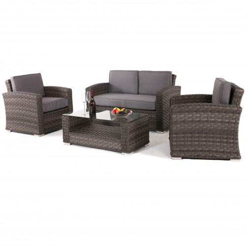 Victoria 2 Seat Sofa Set / Grey