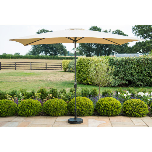 Parasol Rectangular 3mx2m Beige