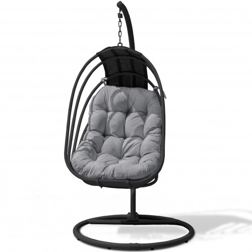 Amalfi Hanging Chair 17C169S / Black