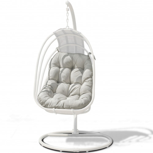 Amalfi Hanging Chair 17C169S / White