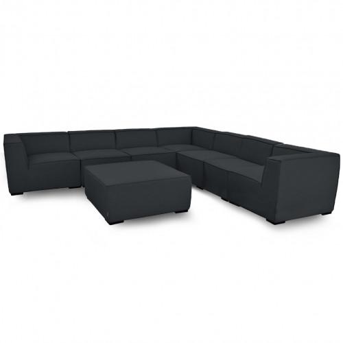 Apollo Large Corner Sofa Group / Charcoal