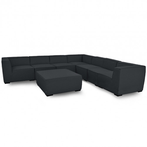 Apollo Large Corner Sofa Group / Charcoal