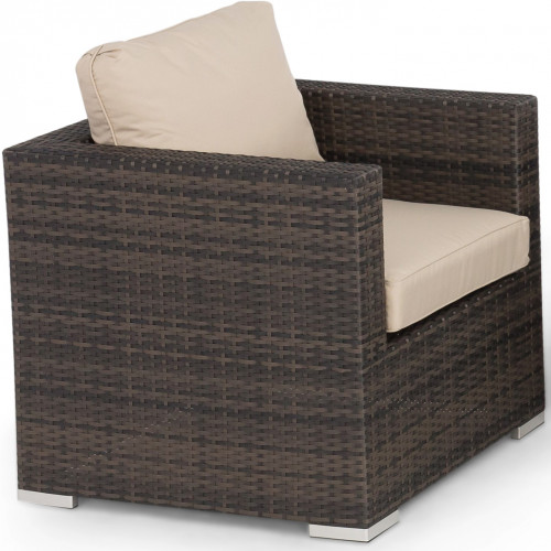 Armchair / Brown (SINGLE ARMCHAIR)