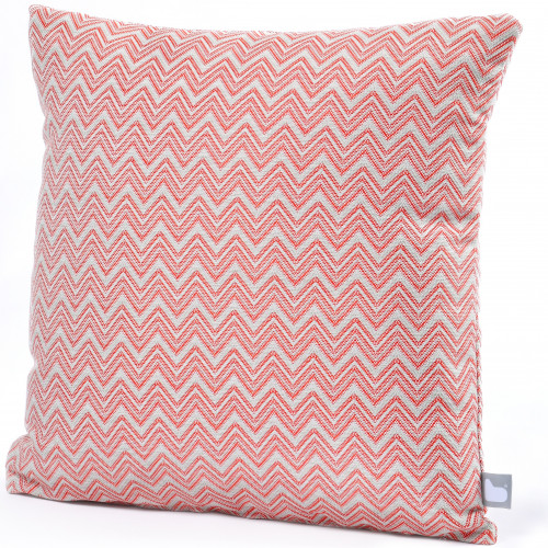 Fabric Scatter Cushion (Pack of 2) / Polines Red