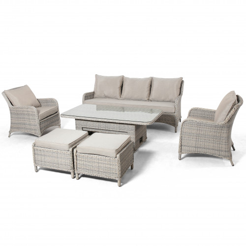 Cotswold 3 Seat Sofa Dining with Rising Table
