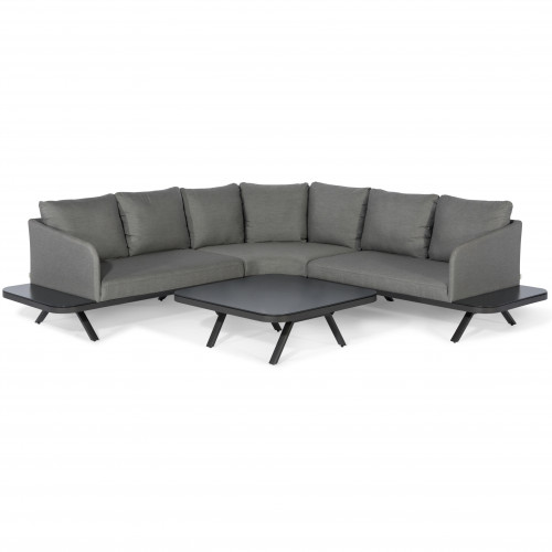 Cove Corner Sofa Group / Flanelle