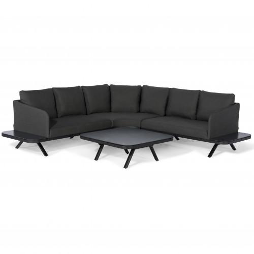Cove Corner Sofa Group / Charcoal