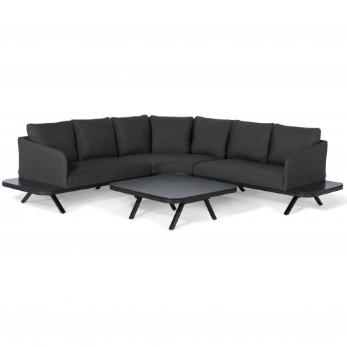 Cove Corner Sofa Group / Charcoal