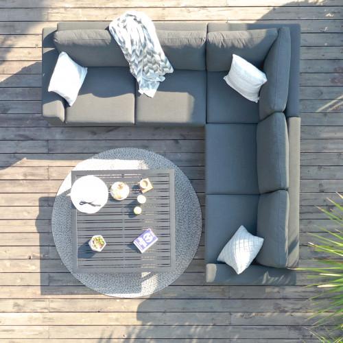 Ethos Corner Sofa Group / Flanelle