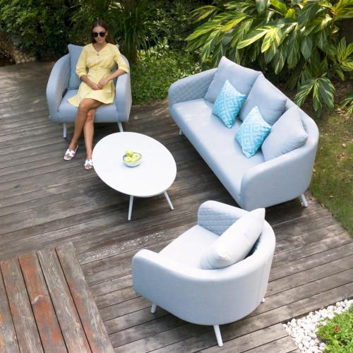 Ambition 3 Seat Sofa Set / Lead Chine