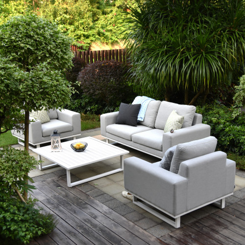 Ethos 2 Seat Sofa Set with Coffee Table / Lead Chine