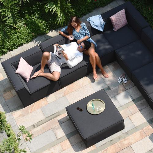 Apollo Corner Sofa Group / Charcoal