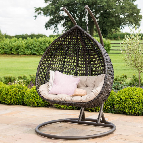 Rose Hanging Chair / Brown