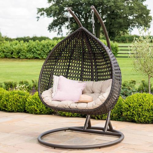 Rose Hanging Chair / Brown