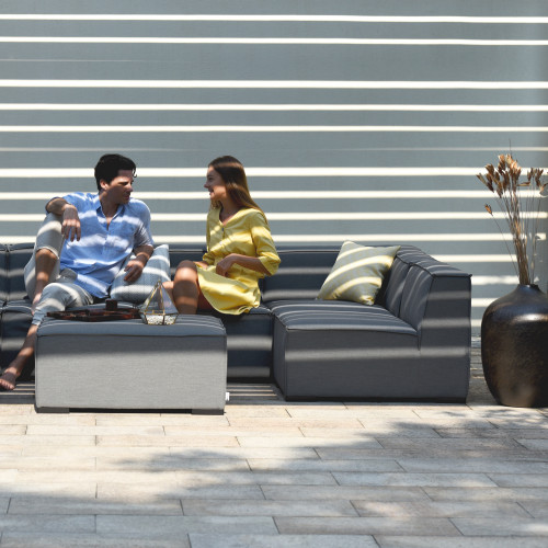 Apollo Corner Sofa Group / Flanelle