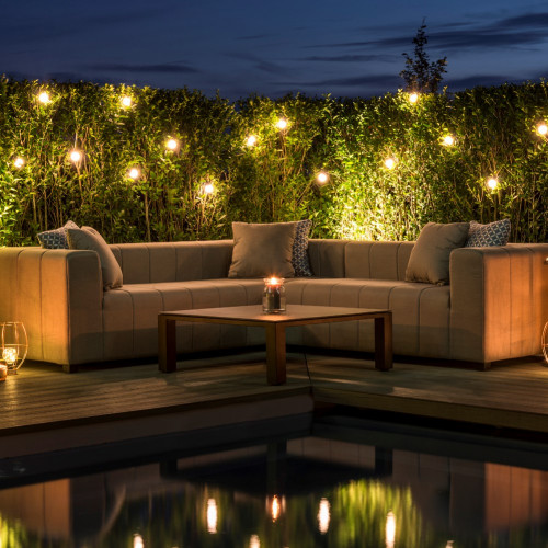 Nexus Corner Sofa Group / Flanelle