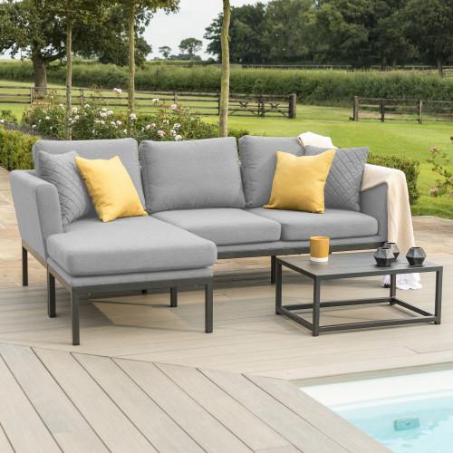 Pulse Chaise Sofa Set / Flanelle