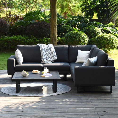 Ethos Corner Sofa Group / Charcoal