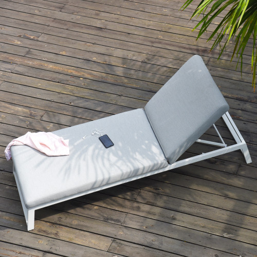 Allure Sunlounger / Lead Chine