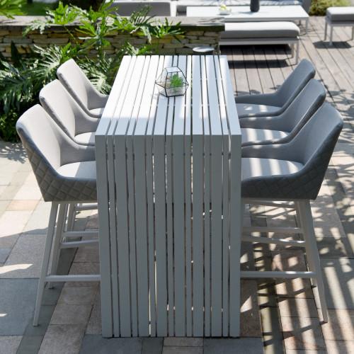 Regal 6 Seat Rectangular Bar Set / Lead Chine