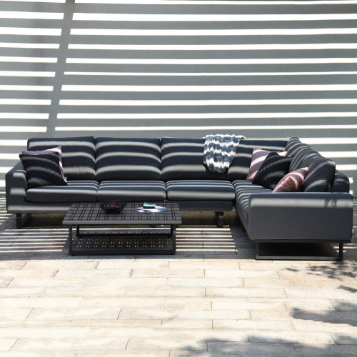 Ethos Large Corner Sofa Group / Flanelle