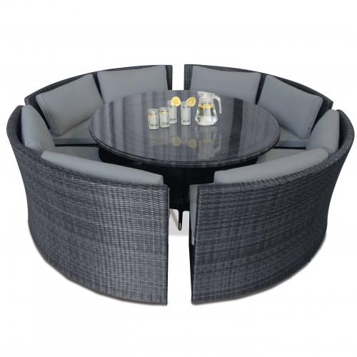 Dallas Sofa Set / Grey