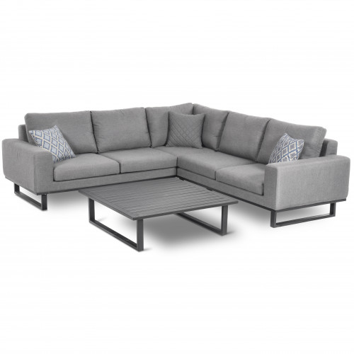 Ethos Corner Sofa Group / Flanelle