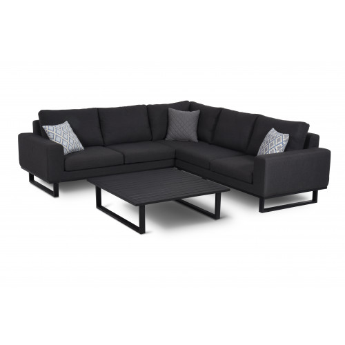 Eve Corner Sofa Group / Charcoal