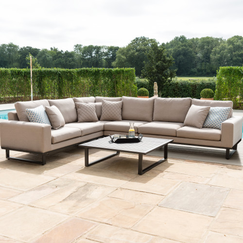 Ethos Large Corner Sofa Group / Taupe