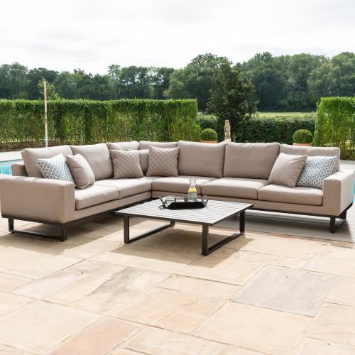 Ethos Large Corner Sofa Group / Taupe