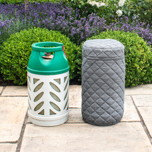 Fabric 10KG Gas Bottle Cover / Flanelle