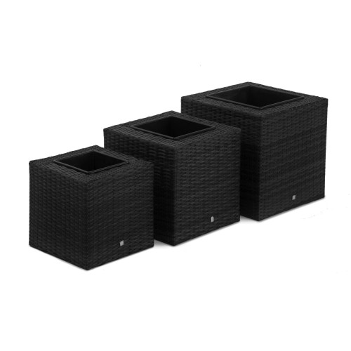 Planters Set Square / Black