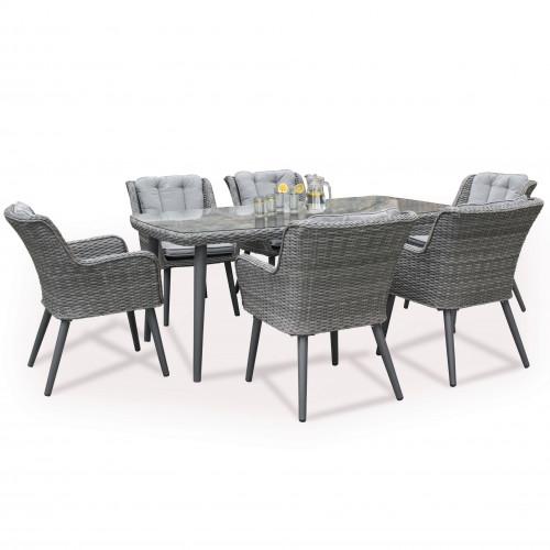 Florence 6 Seat Dining Set