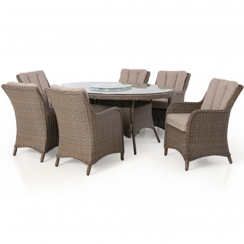 Harrogate 6 Seat Oval Dining Set