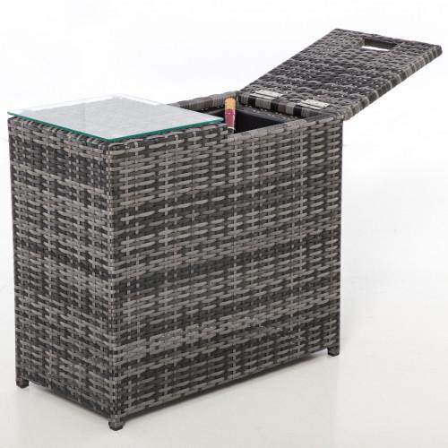 Ice Bucket Side Table / Grey