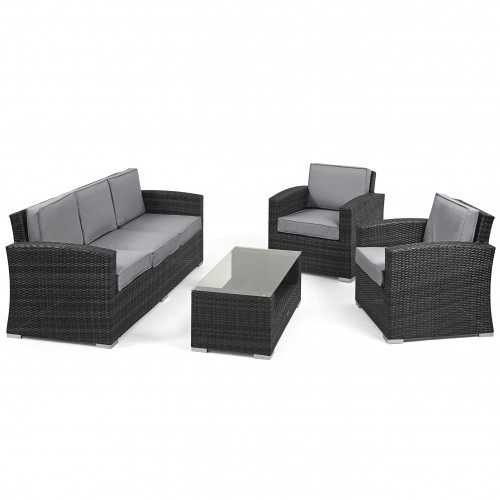Kingston 3 Seat Sofa Set / Grey