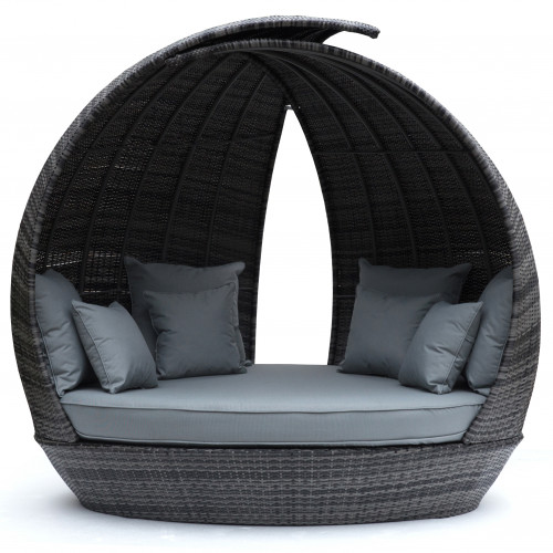 Lotus Daybed / Grey