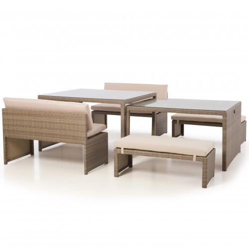 Tuscany Lyon Sofa Set / Natural