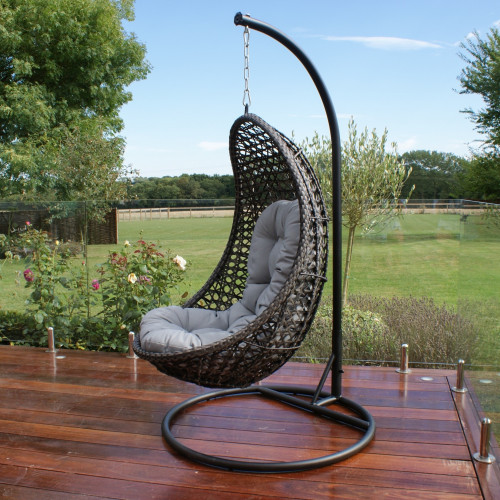 Malibu Hanging Chair / Grey