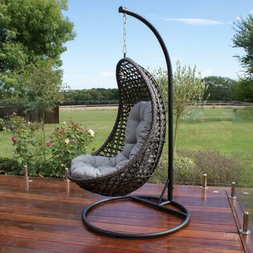 Malibu Hanging Chair / Grey