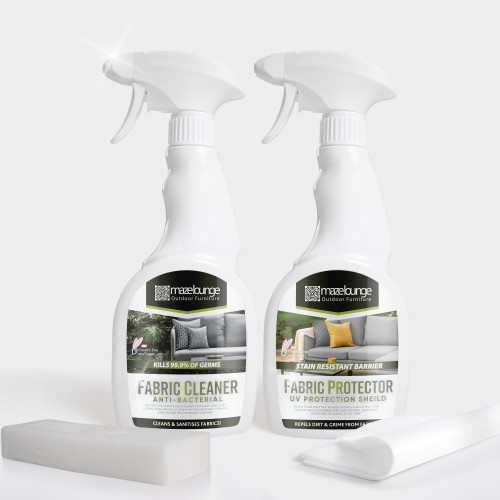 Cleaning Kit and Protector for Outdoor Fabric