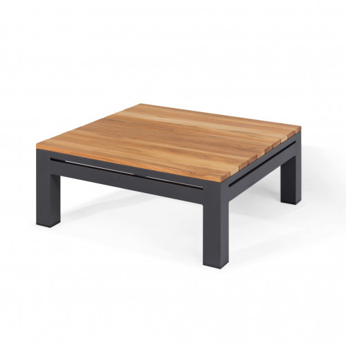 Oslo Square Teak Top Side Table