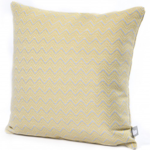 Fabric Scatter Cushion (Pack of 2) / Polines Yellow