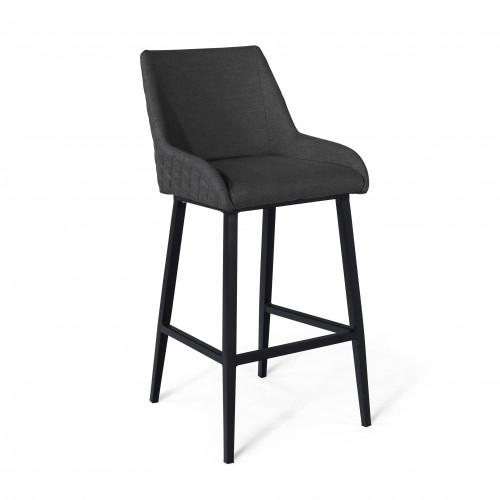 Regal 4 Seat Round Bar Set / Charcoal