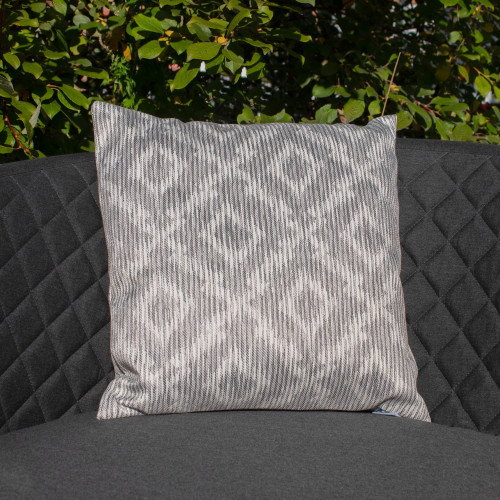 Fabric Scatter Cushion (Pack of 2) / Santorini Grey