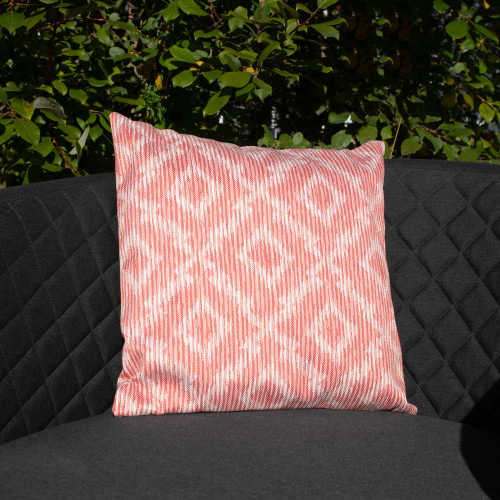 Fabric Scatter Cushion (Pack of 2) / Santorini Red