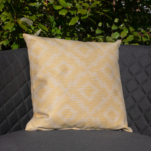 Fabric Scatter Cushion (Pack of 2) / Santorini Yellow
