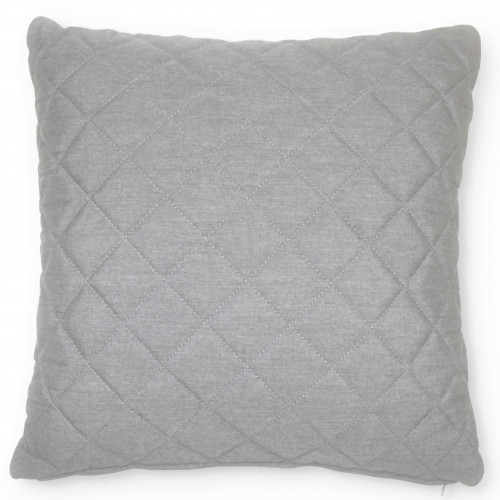 Fabric Scatter Cushion Quilted (Pack of 2) / Lead Chine
