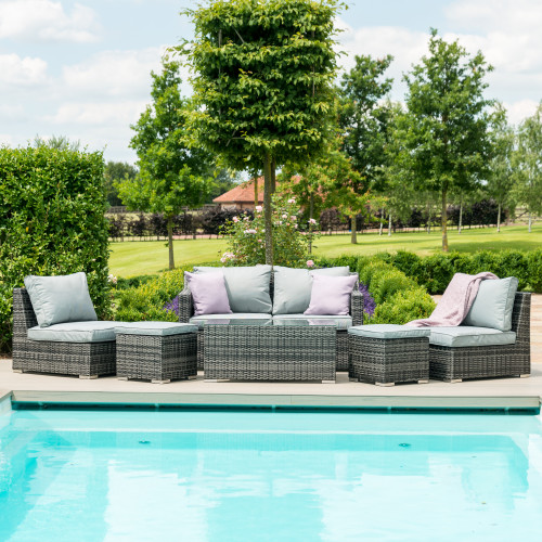 Seville Sofa Set / Grey