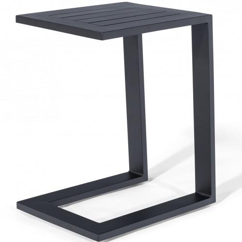 Aluminium Side Table / Black